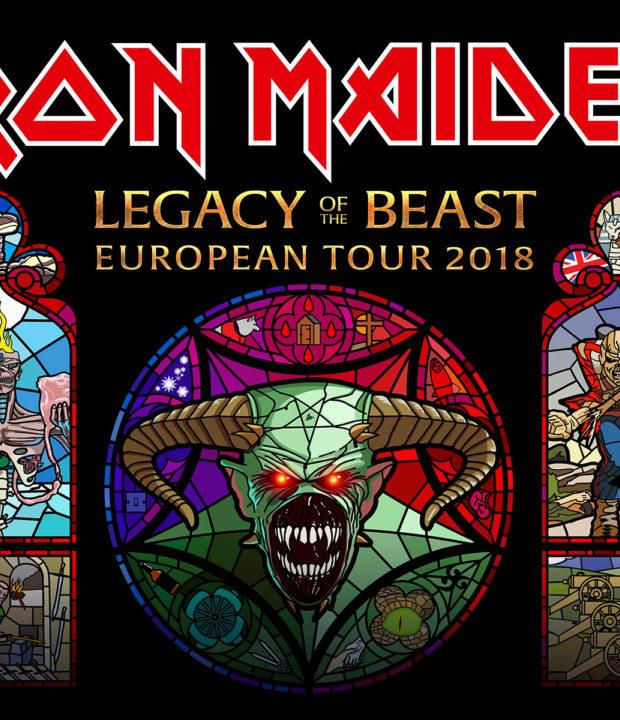 Legacy tour artwork