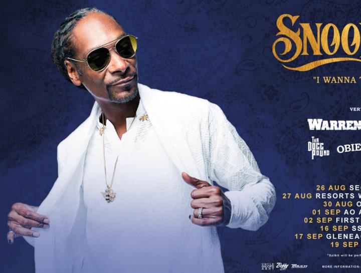 Snoop Dogg 2022 Tour Banner